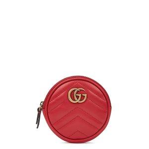 Gucci双倍积分GG零钱包