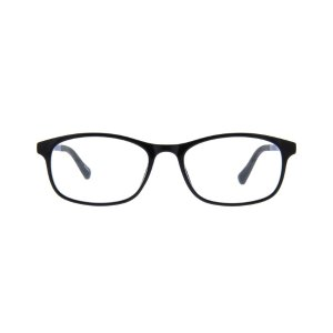 Black Rectangle Eyeglasses #2016421 | Zenni Optical Eyeglasses