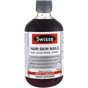SwisseSwisse, Ultiboost, Hair Skin Nails, 16.9 fl oz (500 ml)