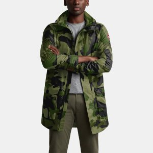 Canada GooseFinal SaleCrew Trench Coat in Camo