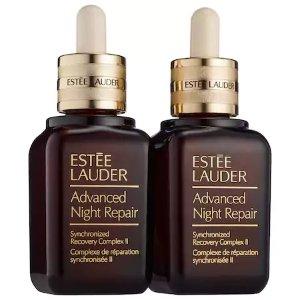 Estee Lauder小棕瓶双瓶套装 (价值$230)