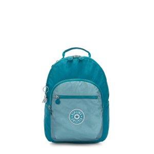 KiplingMetallic Tablet Backpack