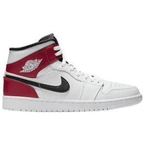 $145 夏天出街 做阳光男孩Air Jordan 1 Mid 小芝加哥 晚了又没你的尺码了