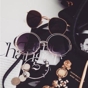 3.7折 + 额外8.1折 到手低至$105Chloe 太阳镜热卖 热门款圆形墨镜补货