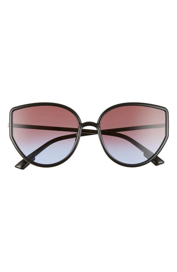 Sostellaire 58mm 猫眼墨镜