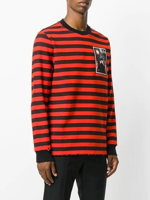 striped 条纹卫衣