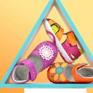 2双童靴仅$32.49 (原价高达$170)即将截止:pediped 童鞋官网 额外6.5折半年度大促,满额加送真皮手绳
