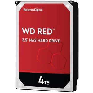 $89.99 (原价$124.99)WD Red 4TB NAS 红盘 5400转 64MB缓存