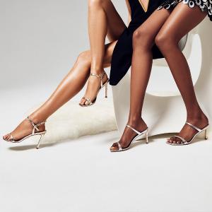低至3折Stuart Weitzman 时尚美鞋特卖,收一字带凉鞋