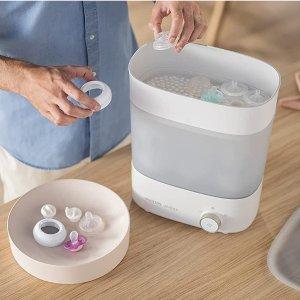 $99.95(原价$127.63)Philips Avent  新安怡 3合1电动蒸汽奶瓶灭菌器 宝妈必备