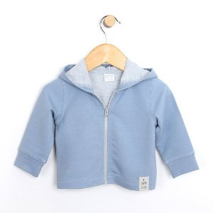 RobeezFrench Terry Knit Jacket, Blue