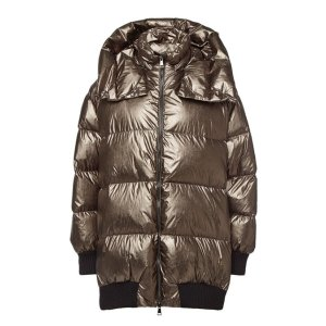 Moncler- Verdier Down Jacket with Zipped Sides