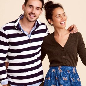 Up to 30% Off + Extra 30% OffSelect Sale @ J.Crew Factory