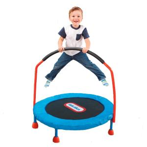 $68(原价$89.99)Little Tikes 易储存式儿童蹦床,让宝宝爱上弹跳长高高