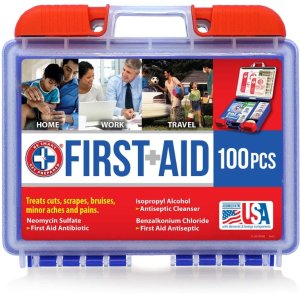 $7.84Be Smart Get Prepared 100 Piece First Aid Kit