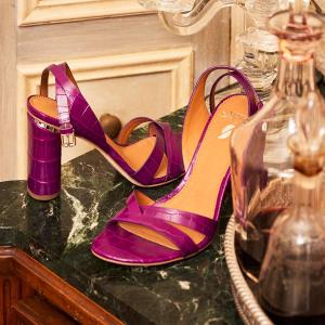 低至6折+额外7折Franco Sarto 盛夏凉鞋热卖 $40+收奶油橘平底凉鞋、法式低跟