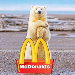 Must-See At The North PoleWanna Try? Eating In McDonald's At The North Pole