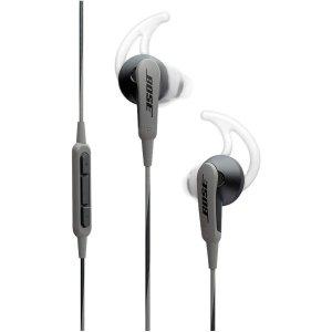 $49.95(原价$99) 包邮Bose SoundSport 入耳式运动耳机 黑色 安卓版