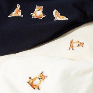 低至4折 多款再降价最后一天:Maison Kitsuné 精选美衣热卖 可爱小狐狸萌动一夏 T恤$46