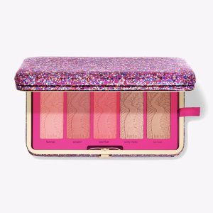 Tartelife of the party clay blush palette & clutch