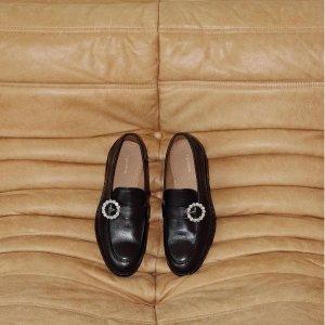 4.5折起 £27收牛油果色板鞋& Other Storeis 法式美鞋专场大促 优雅厚底靴、乐福鞋上线
