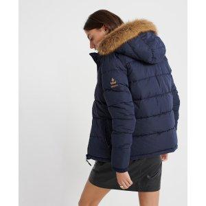 SuperdryKerama Faux Fur Microfibre Jacket