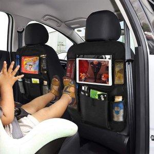 $16.99(原价$19.99)WildAuto 车内收纳 多功能储存空间 防止熊孩子踢椅背