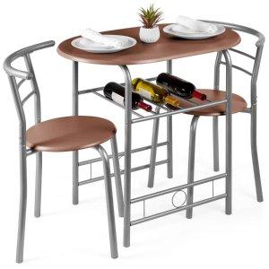 最后一天:Best Choice Products 简约餐桌餐椅3件套