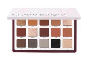 $162+Fenty Beauty蜜粉中样上新:NATASHA DENONA  Biba 15色眼影盘 金属哑光大地色系
