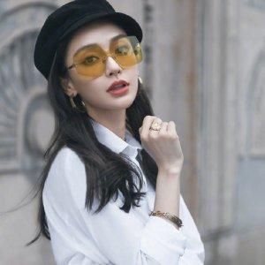低至5.5折 $394收Angelababy 同款Dior 墨镜平光镜折扣进行时 大牌好价入 瘦脸神器