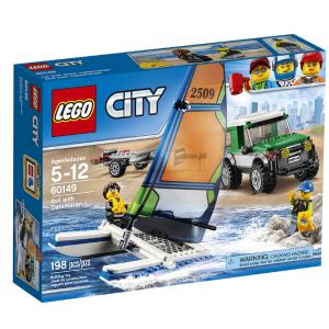 LEGO City Great Vehicles 4x4 with Catamaran (60149)