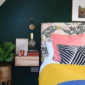3折起!床单£4 被罩£15La Redoute 高端设计师床品专场 被单、床单等超低价