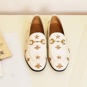 最高送$700礼卡 收复古logo老爹鞋Gucci 美鞋专场  乐福鞋、休闲鞋等经典款式应有尽有