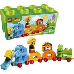 Lego大颗粒 小动物火车