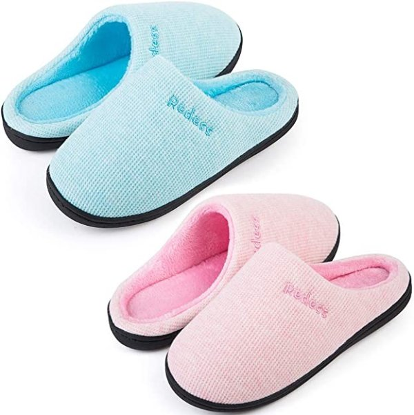 精选冬季室内拖鞋 2双