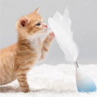 Pidan 【自营】pidan不倒翁逗猫棒 猫玩具羽毛逗猫棒猫咪用品配件可换