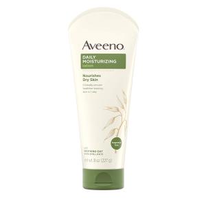 $3.99(原价$7.99)史低价:Aveeno 艾维诺天然燕麦 高效保湿润肤乳227ml  孕妇也适用