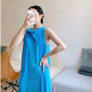 COS飘带裙