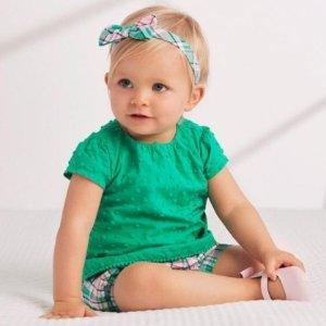 额外5折 包邮Gymboree 婴儿服饰促销 超多款式近期最低价