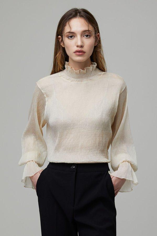 K021 网纱衬衫 8色选