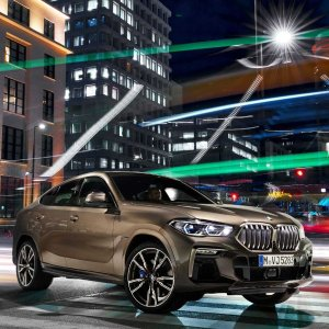 前脸可发光 双涡轮V82020 BMW X6 豪华SUV发布