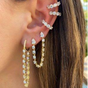 低至4折Nordstrom 精美首饰专场,收水钻戒指、珍珠耳环