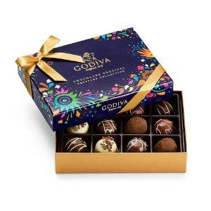Godiva拼单7折巧克力节松露巧克力礼盒 12颗装