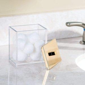 $11.8(原价$14.19)美妆蛋收纳盒 亚克力材质 结实耐用容量大 透明高颜值 多种用途