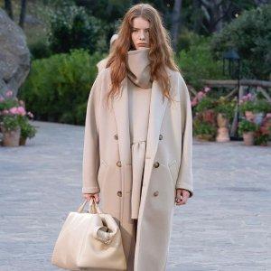 无门槛8.5折  羊毛大衣$1253起MaxMara 时尚专场,明星同款经典101801、泰迪大衣都参加