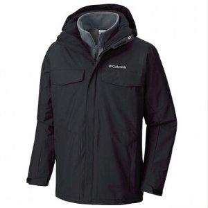 $85(原价$399.99)Columbia 经典款男式滑雪冲锋衣两件套