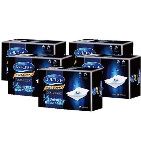 Amazon尤妮佳化妆棉5盒装热卖 湿敷必备