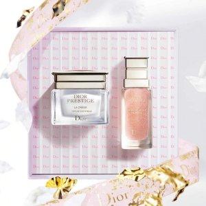 送Mini眼影盘等4件好礼最后一天:Dior 美妆护肤香氛热卖 收花蜜精粹水