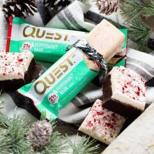 低至7折 饼干一包$1.05限今天:Quest Protein 蛋白能量棒及蛋白代餐等促销