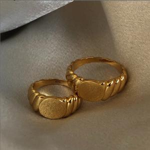 低至5折 £39收玫瑰金戒指Astrid & Miyu 戒指专场 极简风戒指质感爆棚 不愧销售人气王